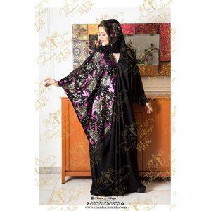 مدل مانتو مجلسیرنگی کار شده عربی