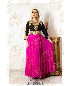لباس عربی رنگی