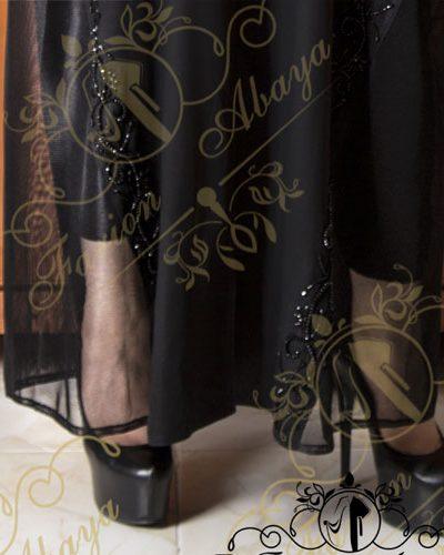 مانتو عربی دانتل سنگدار مدل 264
