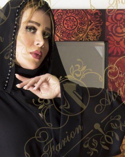 مانتو عربی مجلسی جلو باز مدل 252
