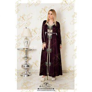 مدل لباس عربی رنگی