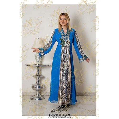 مدل لباس مجلسی رنگی