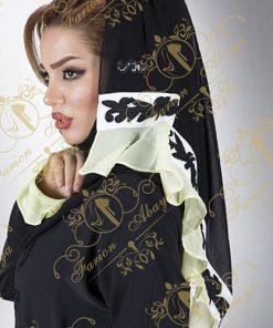 مانتو عربی رنگی کار شده مدل 271