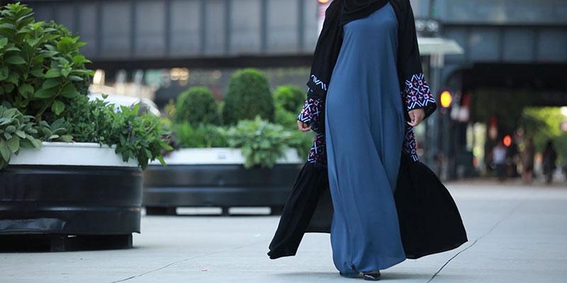 جنس پارچه مانتو عبا کویتی