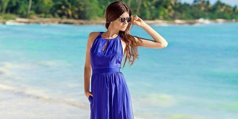 لباس بلند آبی