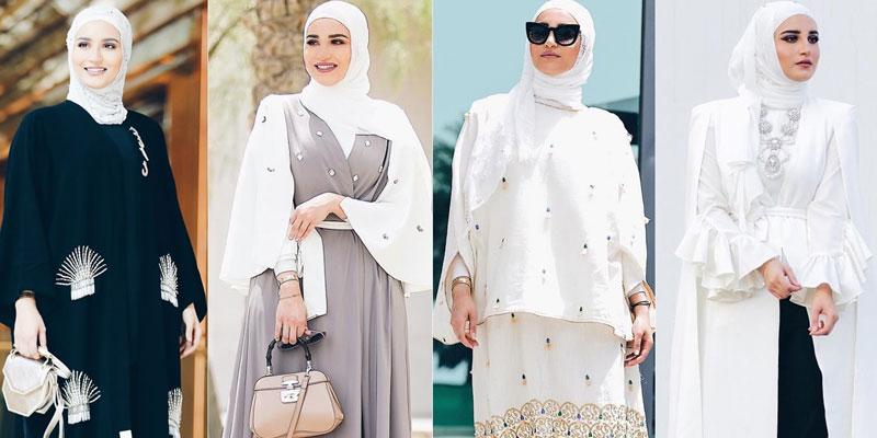 مدل مانتو های عربی جدید 2020