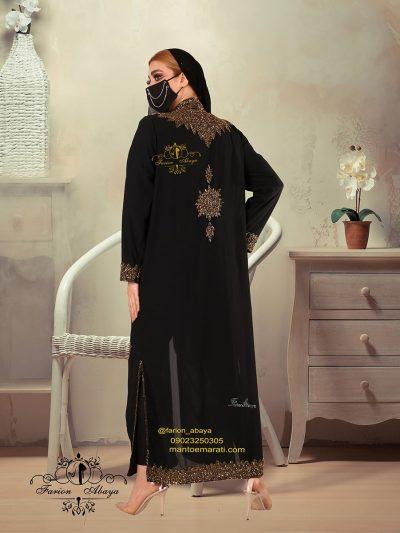 مانتو مجلسی عربی بلند مدل 286