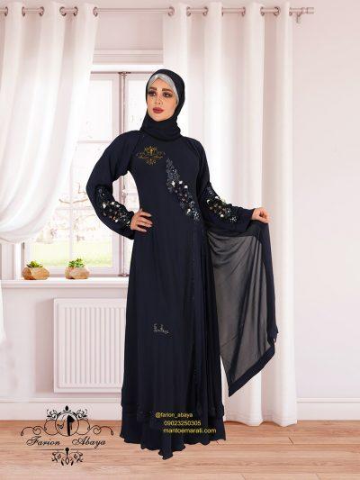 لباس مجلسی عربی پوشیده مدل 302