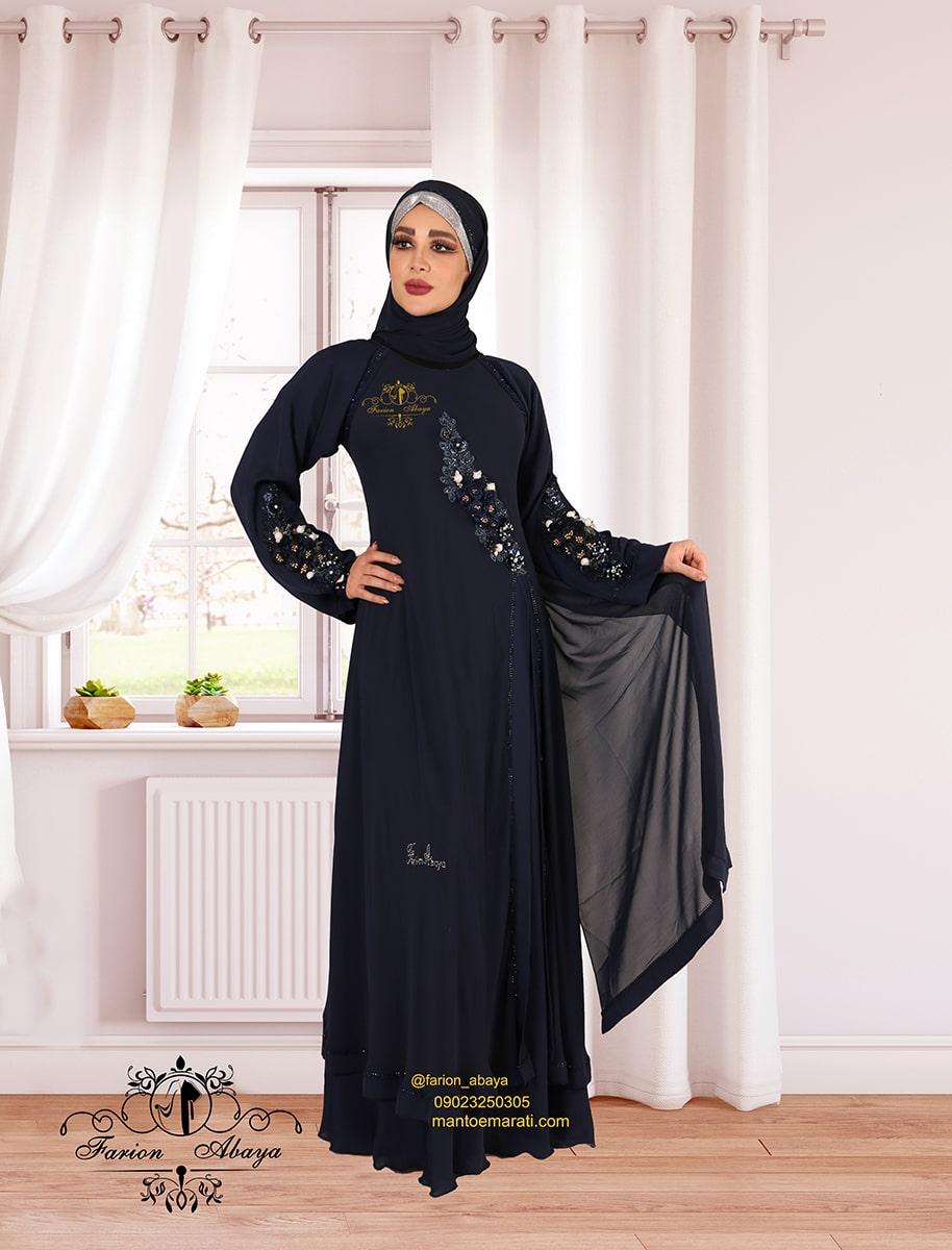 لباس مجلسی عربی پوشیده