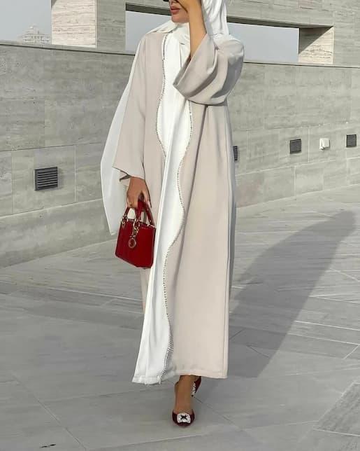 مدل مانتو عبایی بلند